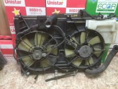 Радиатор охлаждения двигателя. Toyota Estima, ACR30 Двигатель 2AZFE