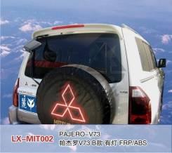 Спойлер. Mitsubishi Pajero, V63W, V73W, V65W, V75W, V78W, V97W, V87W, V77W, V68W