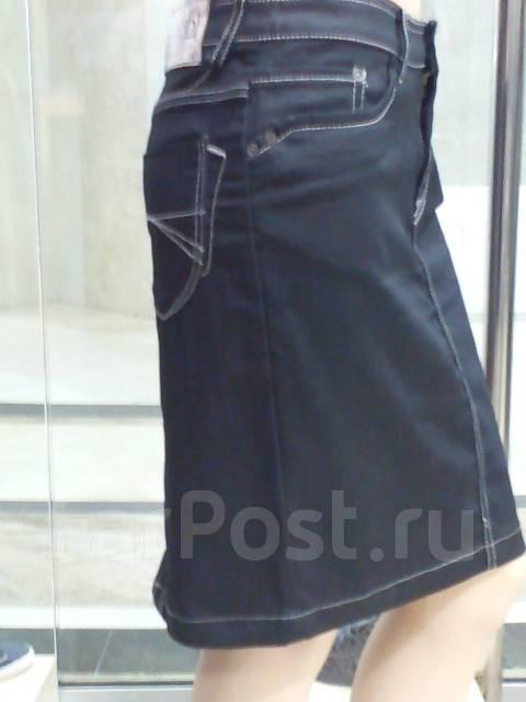 Юбки джинсовые италия