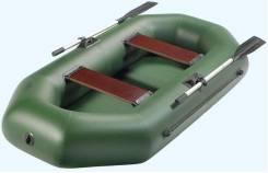Лодка надувная АКВА-Оптима 240 в Новосибирске+Подарок. Год: 2016 год, длина 2,40м.