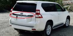 Накладка на дверь багажника. Toyota Land Cruiser Prado
