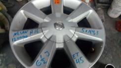Nissan. 6.5x16, 5x114.30, ET45, ЦО 67,1мм.