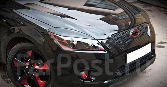Накладка на фару. Subaru Legacy Subaru Impreza Subaru Forester Skoda Octavia Skoda Rapid Toyota: Allion, Alphard, Corolla Axio, Camry, Caldina, Altezz...