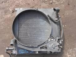 Радиатор охлаждения двигателя. Toyota Granvia Двигатель 1KZTE