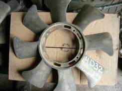 Вентилятор охлаждения радиатора. Mitsubishi Canter, FE425E Двигатель 4D32