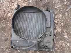 Радиатор охлаждения двигателя. Toyota Regius Двигатель 3RZFE