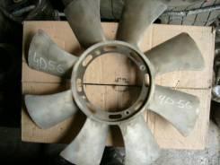 Вентилятор охлаждения радиатора. Mitsubishi Delica Двигатель 4D56