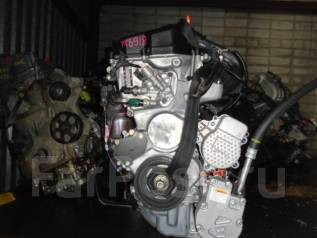 Двигатель в сборе. Honda Fit, GP5 Двигатель LEB