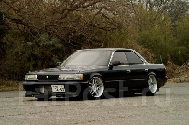 Toyota Chaser. ПТС JZX81