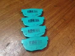 Колодка тормозная. Nissan Silvia, S15 Nissan 180SX, PRS13, KRPS13, RPS13, RS13, KRS13