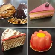 Пирожные, капкейки, конфеты ручной работы, маршмеллоу, печенье, торты.