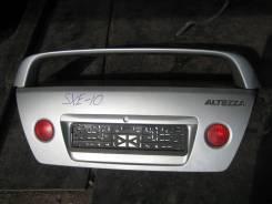 Крышка багажника. Toyota Altezza, SXE10 Двигатель 3SGE