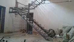 Изготовим и установим металлические лестницы, крылечки
