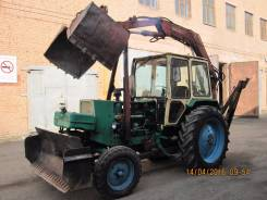 ЮМЗ 6АКЛ. Продам трактор экскаватор ЮМЗ-6, 4 940 куб. см., 0,40куб. м.
