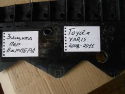 Защита бампера. Toyota Yaris
