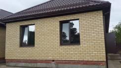 Продам новый кирпичный дом в п. Северный (Баскет холл). Народная, р-н Прикубанский, площадь дома 80 кв.м., скважина, электричество 5 кВт, отопление ж...