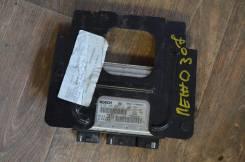 Блок управления двс. Peugeot 307