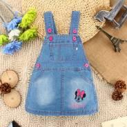 Сарафаны джинсовые. Рост: 74-80 см