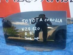 Стекло боковое. Toyota Corolla, ZZE130, ZZE121, NZE120, ZZE122, CE120, NZE121 Toyota Corolla Fielder, NZE124, ZZE124, CE121, ZZE122, NZE120, NZE121 Дв...