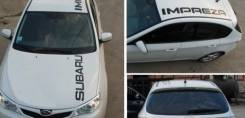Наклейка. Subaru Impreza