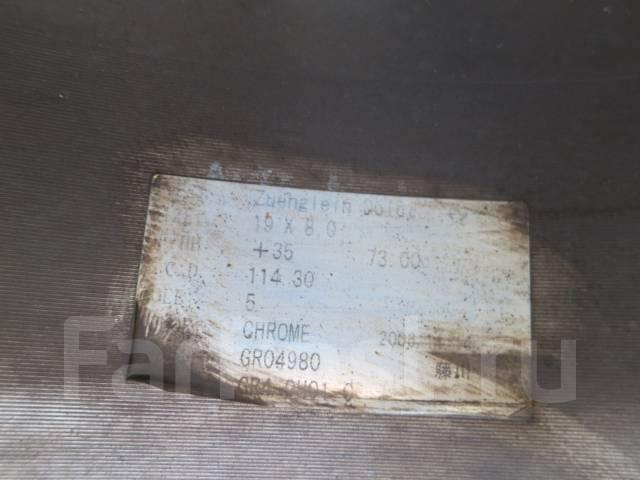 Garson Zuenglein Dolci. 9.0/8.0x19, 5x114.30, ET35/35, ЦО 73,0мм.