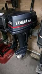 Yamaha. 9,90л.с., 2х тактный, бензин, нога S (381 мм)