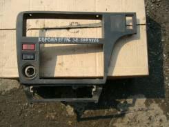 Консоль панели приборов. Toyota Corona, ET176 Двигатель 3E