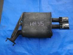 Глушитель. Nissan Stagea, HM35 Двигатели: VQ25DD, VQ30DD
