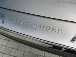 Накладка на бампер. Toyota Highlander, GVU48, GSU40, ASU40, MHU48, GSU45, GSU40L