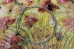 Тросик лючка топливного бака. Kia Rio