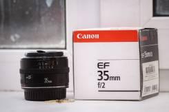 Продам объектив Canon 35мм f2.0. Для Портретной съёмки, пейзажа, репортажной съёмки, диаметр фильтра 52 мм
