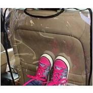 Защита от грязных ножек малыша в авто