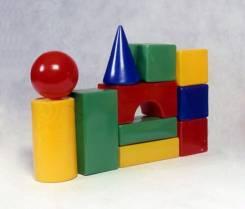 Строительный набор Стена (11эл) сумка