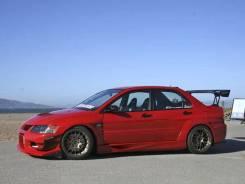Обвес кузова аэродинамический. Mitsubishi Lancer Evolution
