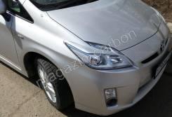 Накладка на фару. Toyota Prius, ZVW30, ZVW30L