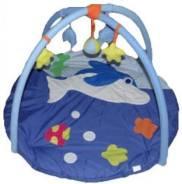 """Коврик развивающий """"Дельфин"""" 90*90 см., Precious, сумка"""