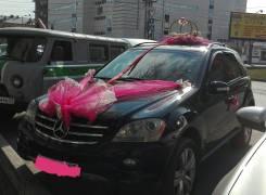 Свадебное Авто Mersedes ML 350 чёрный!