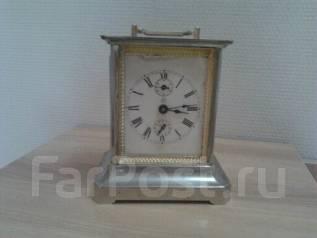 Старинные немецкие каретные часы Junghans. Оригинал