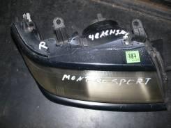 Фара. Mitsubishi Montero Sport