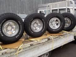 Продам колёса на хор А/Т резине SURF/Prado/Pajero/TLC и тд. 8.0x15 6x139.70 ET-28 ЦО 110,0мм.