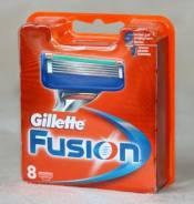 Лезвия Gillette Fusion Упак. 8шт. Сменные кассеты для бритья