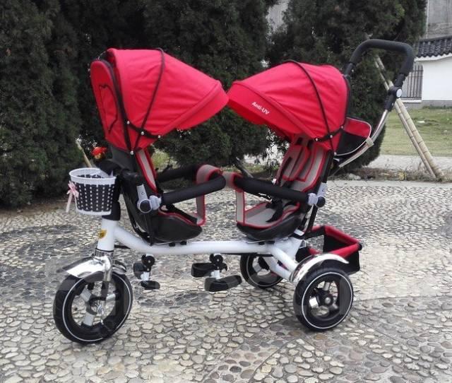 Велосипед для двойни трехколесный - Детский транспорт в Артеме ID910