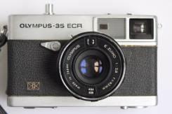 Фотоаппарат Olympus - 35 ECR. 20 и более Мп, зум: без зума