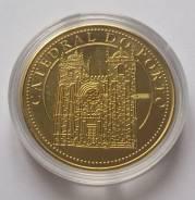 Португалия. Монетовидный жетон. Кафедральный собор г. Порту. UNC