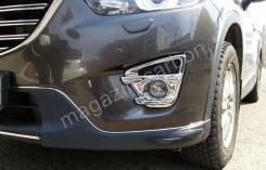 Накладка на фару. Mazda CX-5, KE, KF, KE5FW, KF2P, KFEP, KE2AW, KF5P, KEEFW, KE5AW, KE2FW Двигатели: SHVPTS, PEVPS, PYVPS