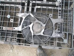 Вентилятор радиатора кондиционера. Nissan Elgrand, AVE50