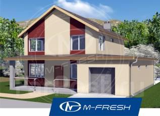 M-fresh Mangooooo! (Покупайте сейчас проект со скидкой 20%! ). 200-300 кв. м., 2 этажа, 5 комнат, бетон