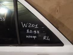 Стекло двери задней левой (форточка) Mercedes-Benz C-Klasse 190 W201 1982-1993