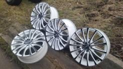 Диски Fest wheels 4 шт (Прома Цунами черно белый). x17, 5x114.30