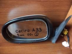 Зеркало заднего вида боковое. Nissan Cefiro, PA33, A33 Двигатели: VQ20DE, VQ25DD